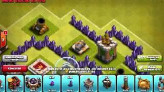 Clash Of Clans: Layout Troll Cv7/Th7 + Replay