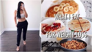 What I Eat In A Day: WEIGHT LOSS EDITION