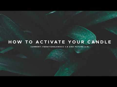 HOW TO ACTIVATE/REGISTER YOUR CANDLE