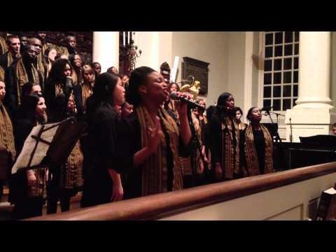 Do You Hear What I Hear- Kuumba Female Small Group- Christmas 2011 Concert