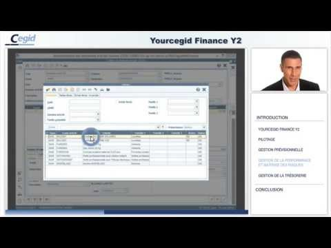 Yourcegid Finance Y2 l'ERP financier complet et modulaire