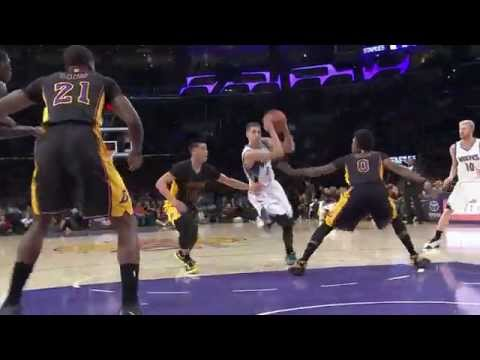 Zach LaVine Scores a Career-High 28 Points vs. Lakers