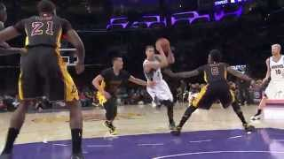 Zach LaVine Scores a Career-High 28 Points vs. Lakers
