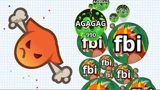 Agar.io Survival Mode Wins/Fails Best Moments Agario Mobile Gameplay