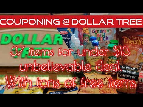 Dollar Tree | COUPON HAUL | New coupons | 37 items for only $13