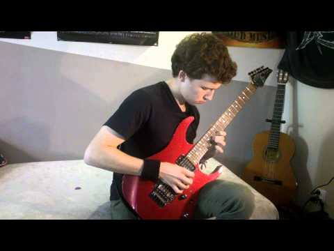 Marty Friedman - Rock Box (guitar cover)