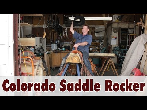 Colorado Saddle Rocker - Rocking Horse