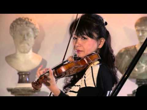 Keiko Urushihara - violin masterclass in Poznan (Poland) - with English subtitles