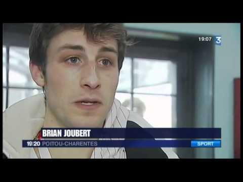 Brian Joubert in Zagreb 2013 - TV-news - 24.01.2013