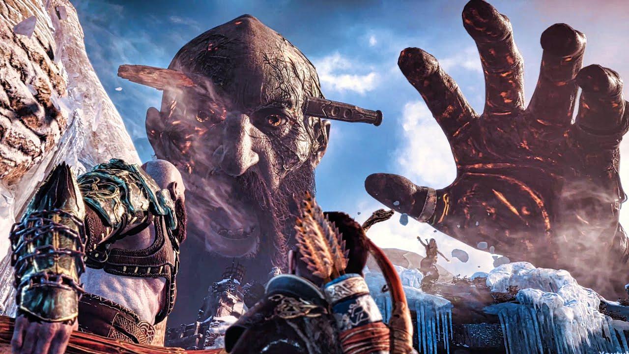 Download God of War 4 - Final Boss Fight (God of War 2018) PS4 Pro