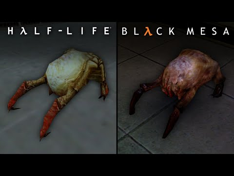 Black Mesa Vs Half Life | Direct Comparison