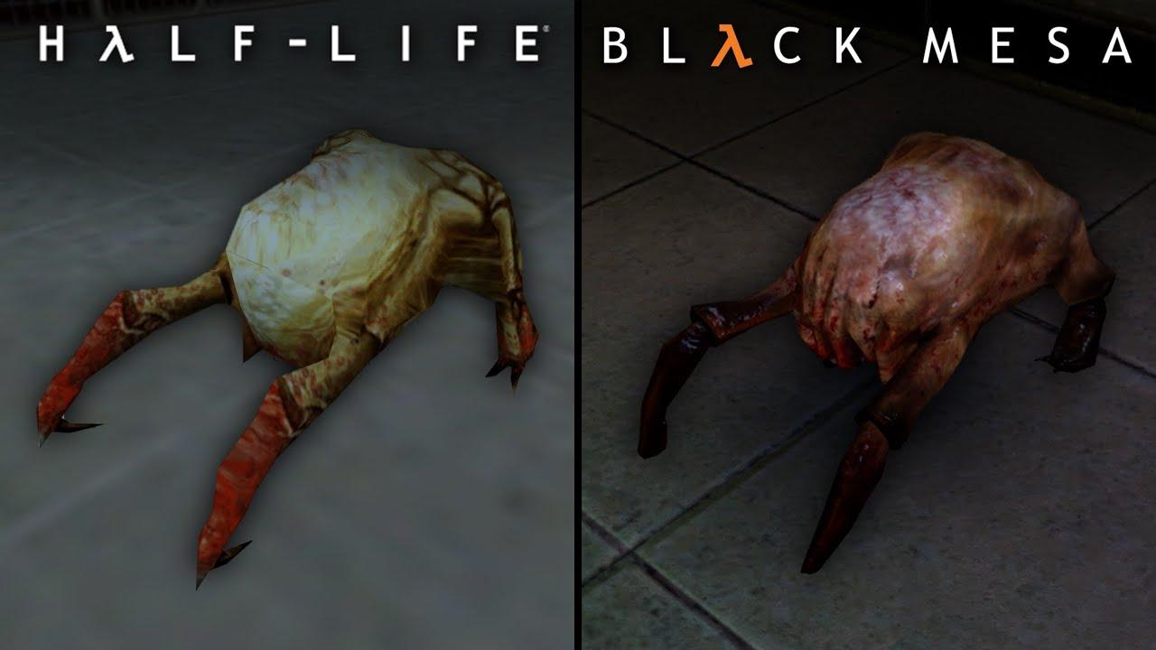 Black Mesa vs Half Life | Direct Comparison - YouTube