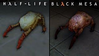 Black Mesa vs Half Life | Direct Comparison
