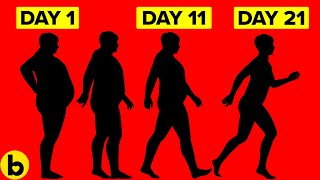 Lose Weight With These Stomach Exercises & Walking Plan
