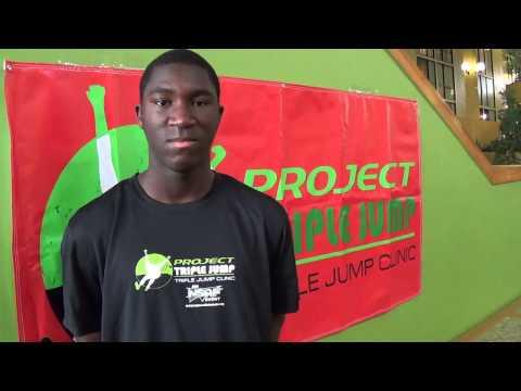 Jordan Samuels Project Triple Jump Clinic November 2013