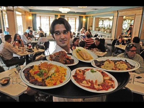 Miami's Most Famous Cuban Food, Versailles Restaurant