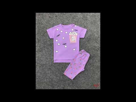 đồ bộ bắp rang | bán buôn quần áo trẻ em thương hiệu HTKIDS