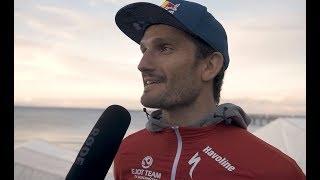 1. Bitburger 0,0% Triathlon-Bundesliga - Binz 2017: Siegerinterview Richard Murray