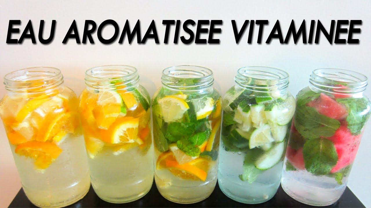 Souvent Ep 102 - Recette - Eau aromatisée vitaminée fruitée [Rééquilibrage  HL62