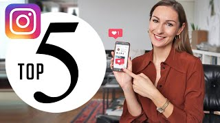 My Top 5 Favorite Instagram Accounts ( cars design lifestyle )