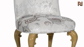 Regency Style Light Grey Fabric Dining Chair  Vgwctem8ty011 From Vig Furniture