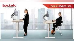 -Loctek sähköpöytä runko - Sähköpöytä - sähköpöydänrunko - työpöytä - toimistopöytä - tietokonepöytä