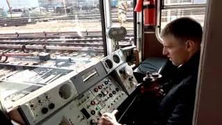 Соревнования машинистов метро. Новосибирск