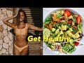 Get Healthy/Fit with Me! What I Eat in a Day + Workout
