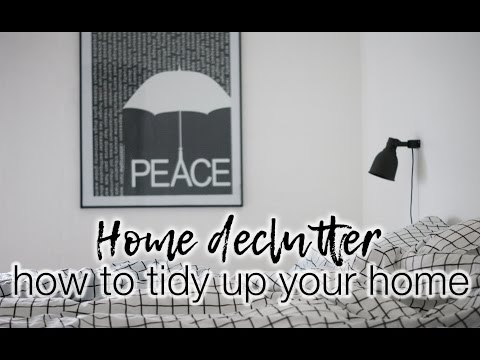 How to declutter your home (Konmari style)!