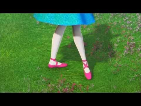 Barbie In The Pink Shoes-Dancing Scene 3(Kristyn as Giselle)