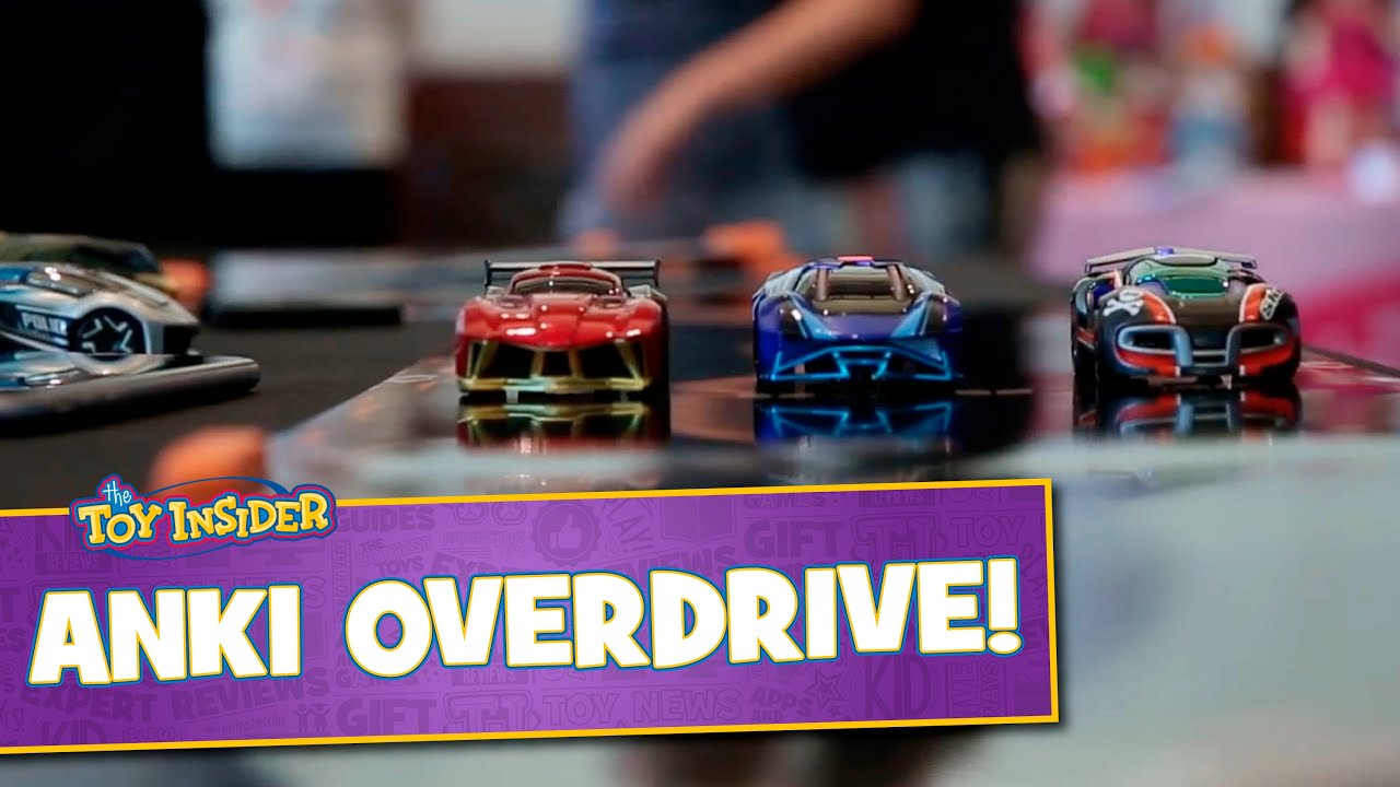 anki overdrive robotic cars at sweet suite 2015 youtube. Black Bedroom Furniture Sets. Home Design Ideas