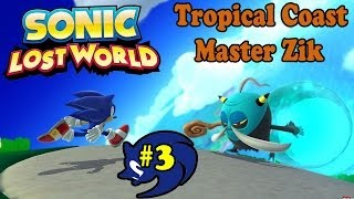 ABM: Sonic Lost World (Sonic Gangs) Tropical Coast (Walkthrough 3) HD