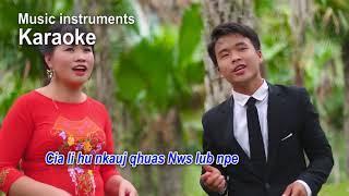 Karaoke cia li hu nkauj qhuas Nws