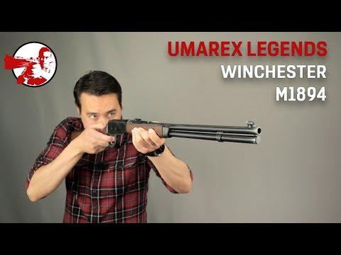 Umarex Legends Winchester 1894. C гильзами и скобой.