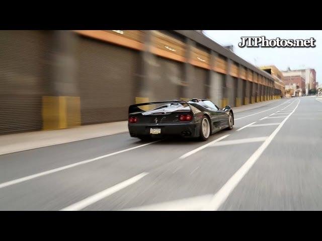 Rare Ferrari F50 Turns Up Wrecked In Salvage Yard Bidding Battle