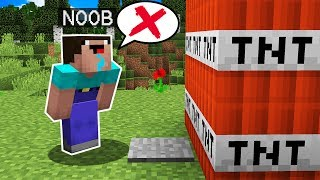 NOOB VS 10 MANERAS DE MORIR 😂 MINECRAFT TROLL + ROLEPLAY | EL NOOB #11