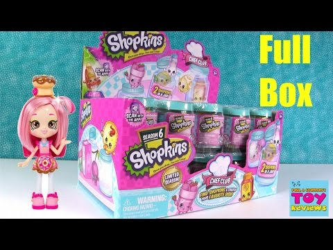 Shopkins Full Box Season 6 Chef Club 2...