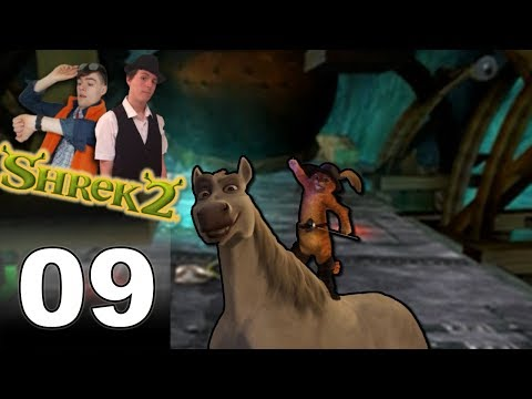 Prey for Mercy from Puss 'n' Donkey!!! - Let's Play Shrek 2 Part 9