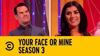 Jimmy Carr Turns On The Charm  | Your Face Or Mine | Too Hot For TV
