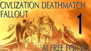 "Civ 5: Fallout AI Only Free For All Deathmatch #1 ""The House Always Wins"""