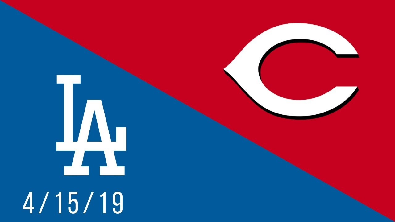 Cincinnati Reds vs Los Angeles Dodgers - Full Highlights Game - 4/15/19