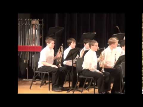 Superior Middle School 7th Grade Winter Band Concert 2014