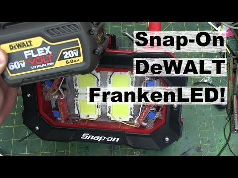 BOLTR: Dangerous Snap-On LED Worklight. 🔋 LITHIUM UPGRADE! ⚡