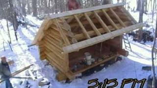 Lean2 Rescue: Bear Lake Build, Adirondacks Ny
