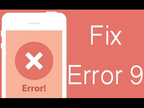 How To Fix ITunes Error 9 On IPhone Or IPad & Complete The Restore Process