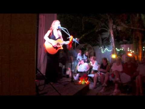 Misty Loggins at the Conch Rock Shanty House Concert, Key West