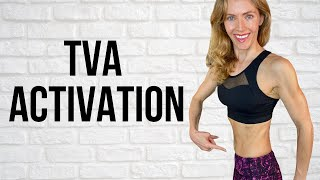 TVA ACTIVATION EXERCISES // Fl…