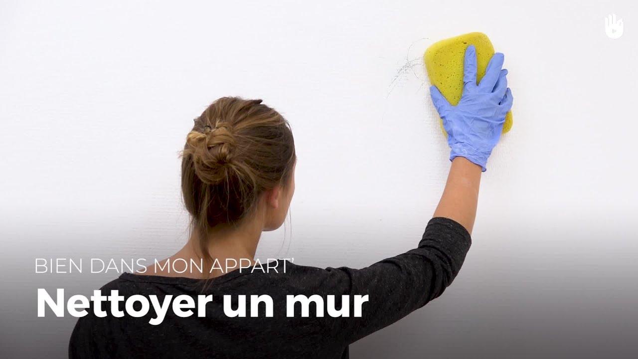 Lessiver Un Mur Avant Peinture nettoyer un mur peint | bien dans mon appart'