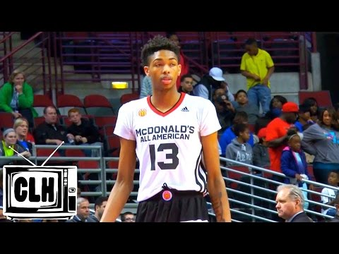 Brandon Ingram Boosts NBA Draft Stock at 2015 McDonald's All American Game