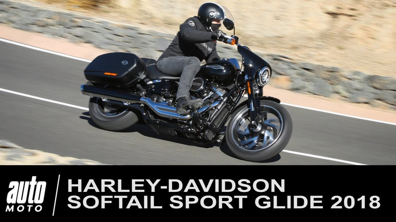 2018 harley davidson softail sport glide essai auto youtube. Black Bedroom Furniture Sets. Home Design Ideas